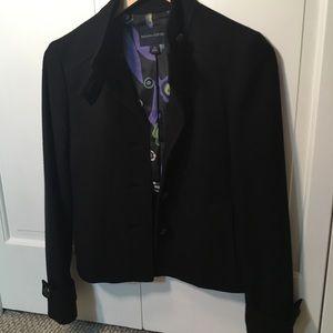 Banana Republic military style wool blend jacket